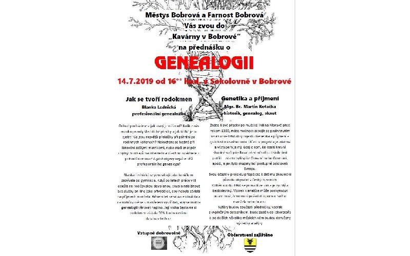 Aktuality - Genealogie