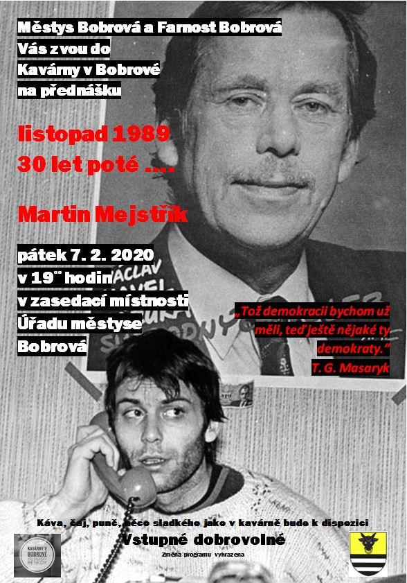 17. listopad ....... 30 let po té - Martin Mejstřík