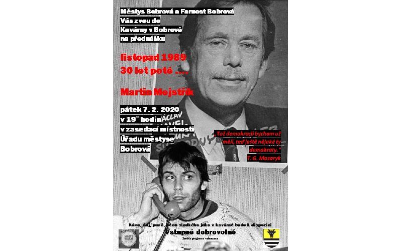 Aktuality - 17. listopad ....... 30 let po té - Martin Mejstřík